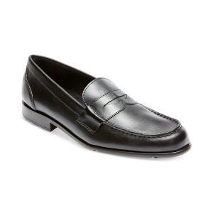 【当日出荷】 ロックポート メンズ Men's Classic Penny Loafer Black 【サイズ 27cm】|astyshop