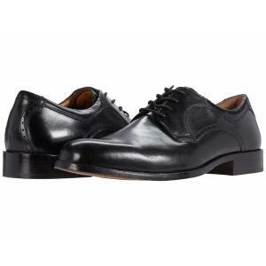 【当日出荷】 ジョンストンアンドマーフィー メンズ Harmon Plain Toe Black Full Grain Leather 【サイズ 27cm】|astyshop