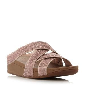 【即日出荷】フィットフロップ サンダル レディース Slinky Rokkit Criss Cross Sandals beige 【サイズ UK5】|astyshop