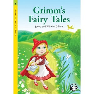 Level 1: Grimm's Fairy Tales with MP3 CD/グリム童話名作集/洋書/多読/英語教材|asukabc-online