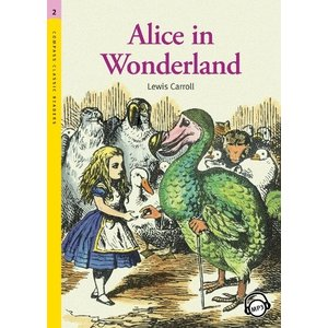 Level 2: Alice in Wonderland with MP3 CD/不思議の国のアリス/洋書/多読/英語教材 asukabc-online