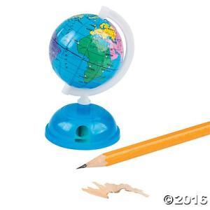 地球儀型の鉛筆削り/グローブシャープナー/英語|asukabc-online