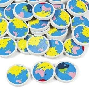 地球消しゴム/Earth Erasers/地球型/地理/生徒への配布に最適|asukabc-online