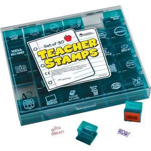 学校で使える!先生用英語スタンプ30個セット/JUMBO TEACHER STAMPS/教師/小学 中学 高校|asukabc-online