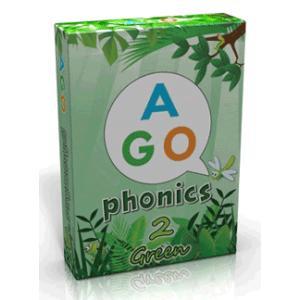 AGO PHONICS GREEN (LEVEL2)/エイゴ・フォニックス・グリーン(レベル2)|asukabc-online