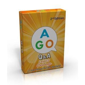 AGO Q&A ORANGE (エイゴオレンジ・レベル3)/CARD GAME|asukabc-online