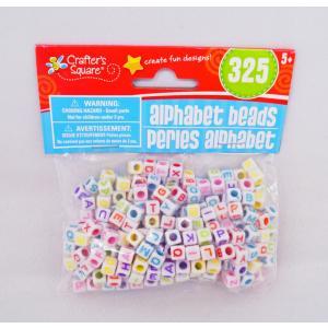 Alphabet Beads アルファベットビーズ 325個/手作りアクセサリー・ブレスレット用|asukabc-online