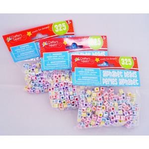 Alphabet Beads アルファベットビーズ 325個/手作りアクセサリー・ブレスレット用|asukabc-online|02