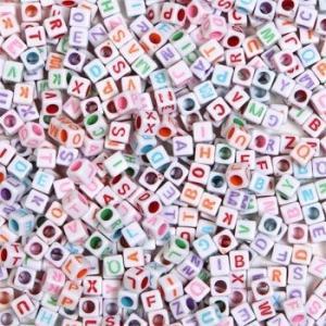 Alphabet Beads アルファベットビーズ 325個/手作りアクセサリー・ブレスレット用|asukabc-online|03