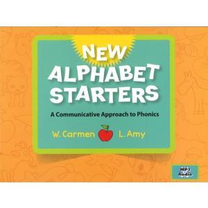 子供向け英語教材:ALPHABET STARTERS (2E): STUDENT BOOK (MP3CD付き)/アルファベット・スターター/洋書|asukabc-online