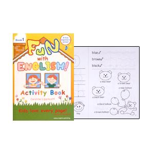 アルファベット教材:FUN WITH ENGLISH! BOOK 1|asukabc-online