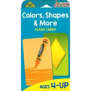 フラッシュカード:COLORS. SHAPES & MORE/色と形と他 asukabc-online