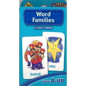 フラッシュカード:WORD FAMILIES/単語の分類 asukabc-online