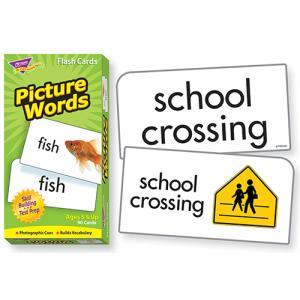 フラッシュカード:PICTURE WORDS/単語カード asukabc-online