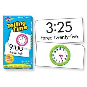 フラッシュカード:TELLING TIME(英語で学ぶ時計の読み方) asukabc-online