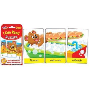 英語カードゲーム: I CAN READ PUZZLES(T-24012)/英文作成ゲーム|asukabc-online