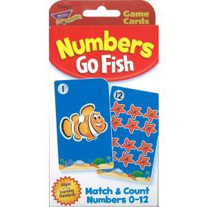 英語カードゲーム:NUMBERS GO FISH/数字版ゴーフィッシュ|asukabc-online