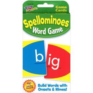 英語カードゲーム: SPELLOMINOES|asukabc-online