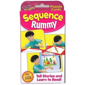 英語カードゲーム: SEQUENCE RUMMY(物語ストーリーを作る)|asukabc-online