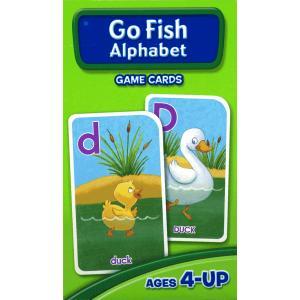 英語カードゲーム:GO FISH ALPHABET/ゴーフィッシュ/英語の大文字と小文字|asukabc-online