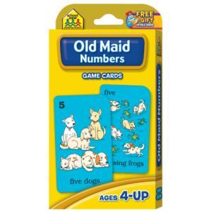 英語カードゲーム: OLD MAID NUMBERS|asukabc-online