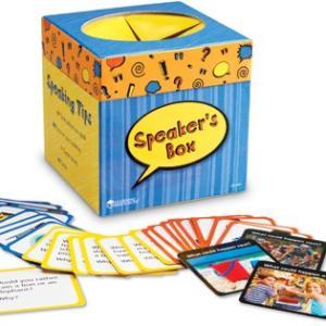 英語カードゲーム:SPEAKER'S BOX/英語の質問カード|asukabc-online