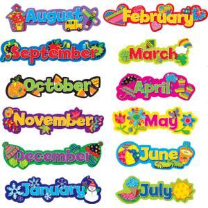 カレンダー:SEASONAL MONTHS OF THE YEAR|asukabc-online