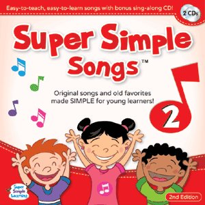 SUPER SIMPLE SONGS 2 (CD) New Edition/洋書絵本|asukabc-online