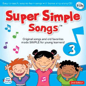 SUPER SIMPLE SONGS 3 (CD) New Edition/洋書絵本|asukabc-online