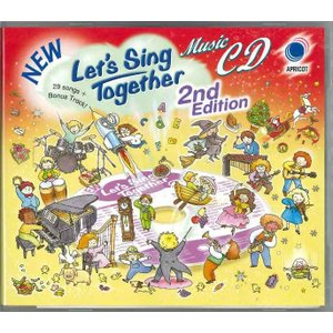 NEW Let's Sing Together 2nd Edtion Music CD/有名な英語の歌(CDのみ)|asukabc-online
