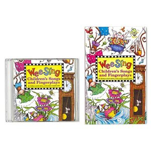 WEE SING CHILDREN'S SONGS AND FINGERPLAYS (BK&CD)/...