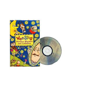 WEE SING NURSERY RHYMES AND LULLABIES (BK&CD)/洋書絵本