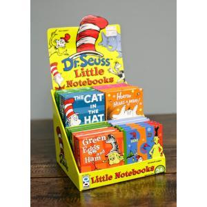 キャット イン ザ ハット(ハットしてキャット)/ディスプレー箱付きメモ帳(24冊入り)/Dr Seuss Little Notes Memo Pad asukabc-online