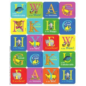 キャット イン ザ ハット(ハットしてキャット)/アルファベットステッカー(120個)/Dr. Seuss Stickers|asukabc-online