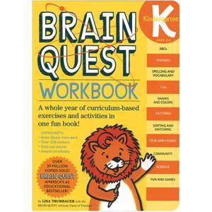 BRAIN QUEST WORKBOOK: GRADE KINDERGARTEN/アルファベット教材...