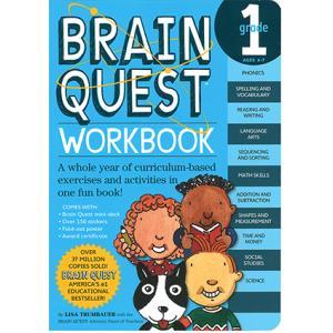 BRAIN QUEST WORKBOOK: GRADE 1/アルファベット教材/単語練習/基礎学習/...
