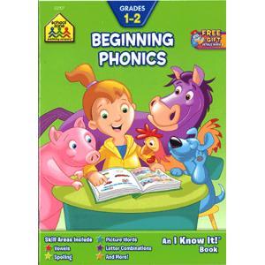 BEGINNING PHONICS (I KNOW IT! BOOK)/アルファベット教材/練習問題/ワークブック/単語|asukabc-online