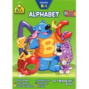 英語ワークブック:ALPHABET/アルファベット練習帳(SCHOOL ZONE WORKBOOK)|asukabc-online
