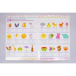 セサミストリート英語練習帳/何度も書ける/Sesame Street Write-On Wipe-Off Workbook|asukabc-online|02