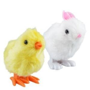 イースターのゼンマイで動くうさぎ/ぜんまいのウサギ/Easter Wind-up toy asukabc-online