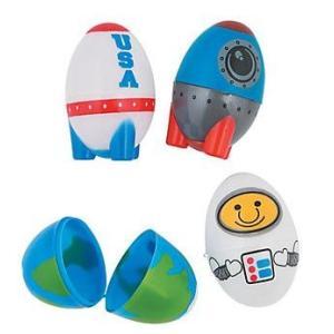 【ラスト1セット】宇宙版・イースターエッグ/Space Plastic Easter Eggs/エッグハント asukabc-online