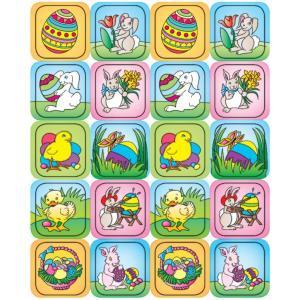 イースターのステッカーセット120/Easter Stickers 120|asukabc-online