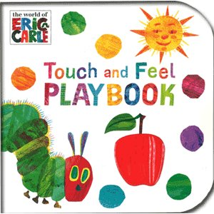 The Very Hungry Caterpillar Touch And Feel Playbook はらぺこあおむし