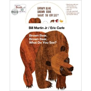 BROWN BEAR, BROWN BEAR, WHAT DO YOU SEE? (PAPER&CD...