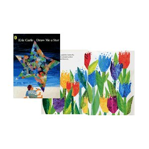 DRAW ME A STAR (mpiオリジナルCD付き絵本) エリック・カール/洋書絵本