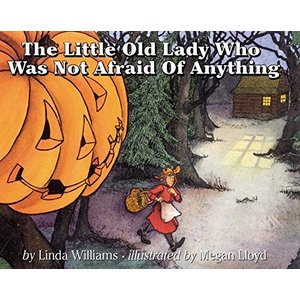 THE LITTLE OLD LADY WHO WAS NOT AFRAID ANYTHING/ハロウィン絵本|asukabc-online