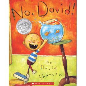 NO. DAVID!/だめよデイビッド!/洋書絵本/名作こど...