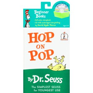 CD付:HOP ON POP (BOOK&CD)/Dr.Seuss/ドクター・スース/洋書絵本/英語の本の商品画像|ナビ