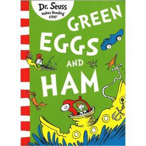 緑色の目玉焼きとハムを主人公に食べさせようと,執拗に追い回すSam-I-am。 家(house)でな...