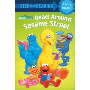 READ AROUND SESAME STREET/セサミストリート洋書/英語の絵本 asukabc-online